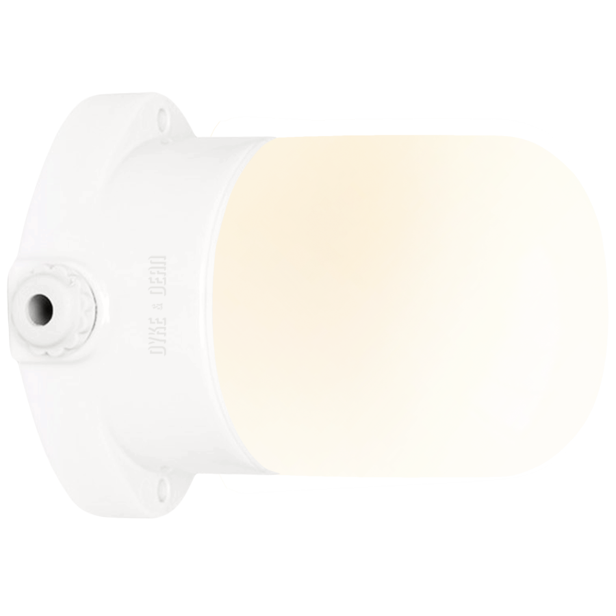CERAMIC MOUNTED WALL LIGHT FROSTED E27