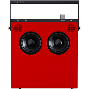 OB-4 SPEAKER RADIO RED