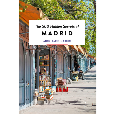 THE 500 HIDDEN SECRETS OF MADRID - BOOKS - DYKE & DEAN  - Homewares | Lighting | Modern Home Furnishings