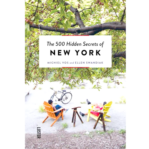 THE 500 HIDDEN SECRETS OF NEW YORK - BOOKS - DYKE & DEAN  - Homewares | Lighting | Modern Home Furnishings