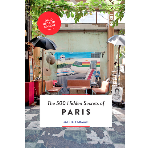 THE 500 HIDDEN SECRETS OF PARIS - BOOKS - DYKE & DEAN  - Homewares | Lighting | Modern Home Furnishings