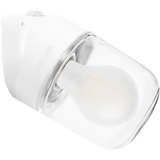 CERAMIC ANGLED WALL LIGHT CLEAR E27