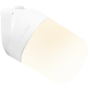 CERAMIC ANGLED WALL LIGHT FROSTED E27
