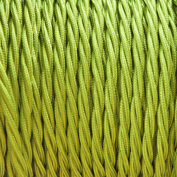 CYPRUS GREEN FABRIC CABLE