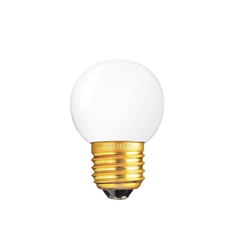 GOLF BALL FROSTED E27 BULB 40W