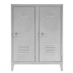 TOLIX DOUBLE DOOR B2 CABINET STEEL