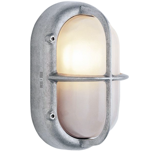 ALUMINIUM & GLASS BULKHEAD LIGHT - BATHROOM / OUTDOOR LIGHTS - DYKE & DEAN  - Homewares | Lighting | Modern Home Furnishings