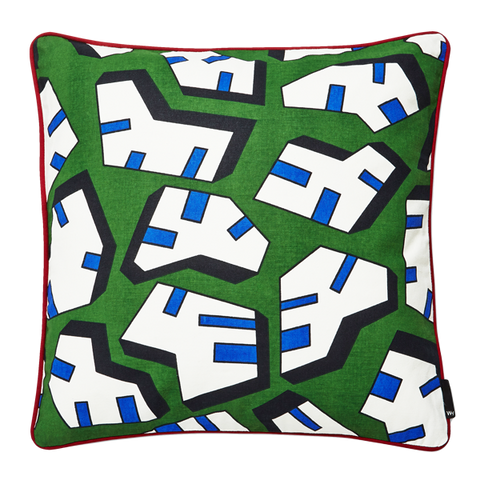WH CUSHION ICE PRINT
