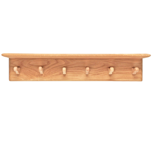 HANGING RACK 6 PEG WITH SHELF