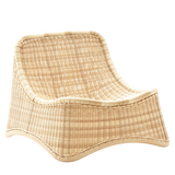 CHILL LOUNGE CHAIR & STOOL RATTAN