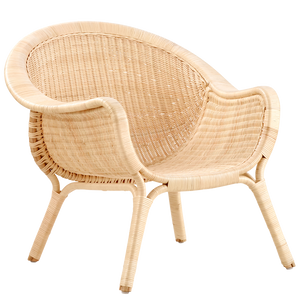MADAME LOUNGE CHAIR RATTAN