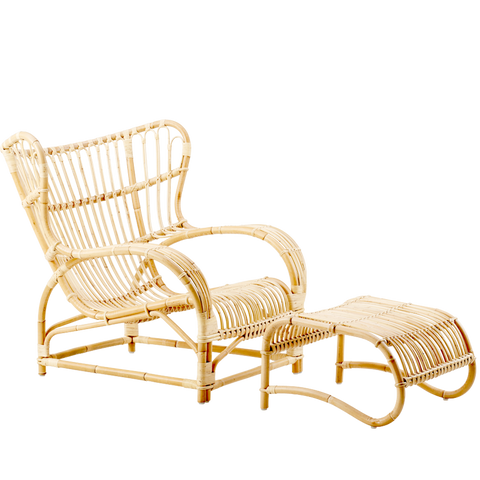 TEDDY CHAIR & STOOL RATTAN