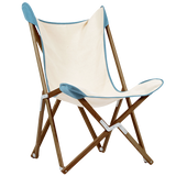 TELAMI TRIPOLINA HEMMED CHAIR TEAK WOOD