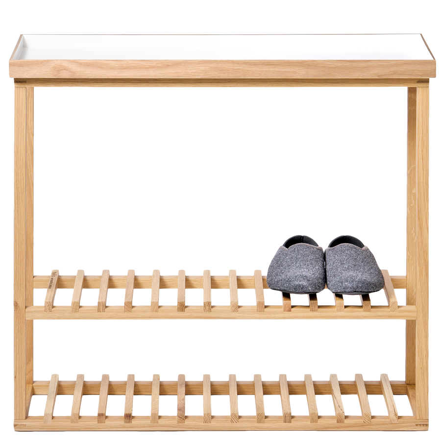 WIREWORKS HELLO STORAGE TABLE WHITE - STORAGE - DYKE & DEAN  - Homewares | Lighting | Modern Home Furnishings