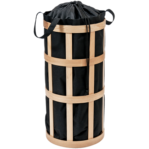 LAUNDRY BASKET NATURAL OAK - BATHROOM - DYKE & DEAN  - Homewares | Lighting | Modern Home Furnishings