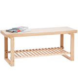 WIREWORKS BENCH OAK