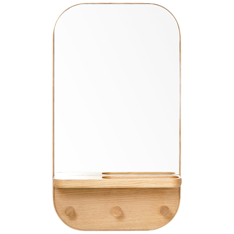 WIREWORKS MIRROR OAK