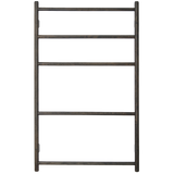 TOWEL RAIL WALL BAR DARK OAK