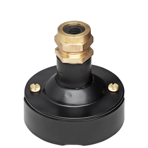 BLACK CONDUIT BRASS CABLE GLAND