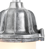 CAST SWAN NECK LANTERN FROSTED