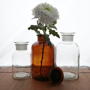 APOTHECARY BOTTLE BROWN XL - KITCHENWARE - DYKE & DEAN  - Homewares | Lighting | Modern Home Furnishings