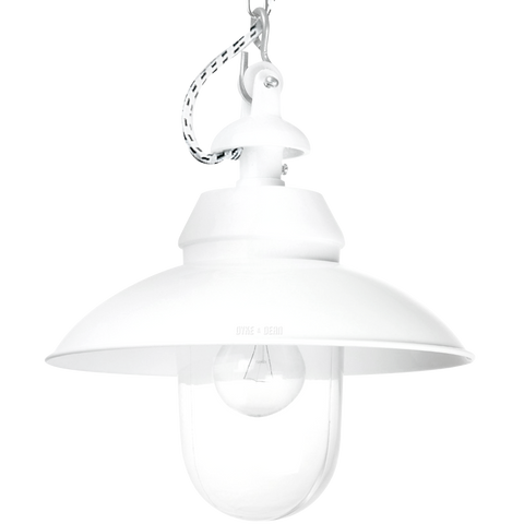 BOLICH PENDANT MAINZ ZYLINDER WHITE CLEAR GLASS