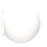 SPHERE LAMP WHITE BASE 250mm