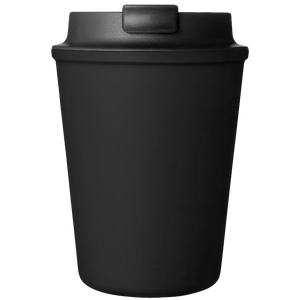 BLACK REUSABLE TRAVEL COFFEE CUP