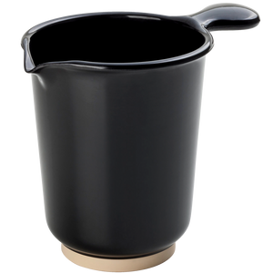 BLACK MELAMINE STIRRING JUG