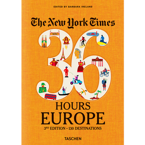 NYT. 36 HOURS EUROPE - BOOKS - DYKE & DEAN  - Homewares | Lighting | Modern Home Furnishings