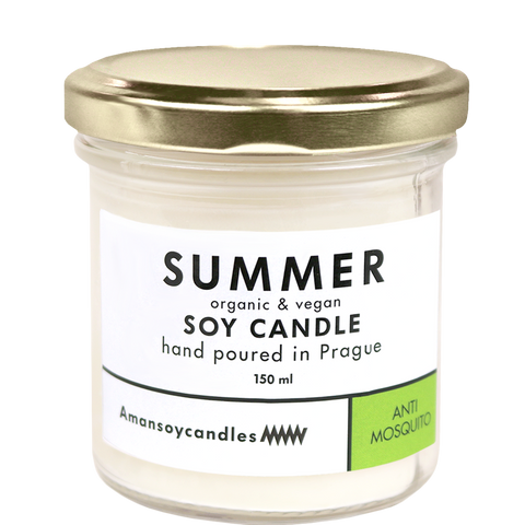 ANTI MOSQUITO SOY CANDLE