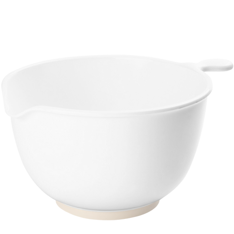LARGE WHITE MELAMINE MIXING BOWL