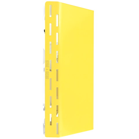 ADJUSTABLE SHUTTER WALL LIGHT YELLOW