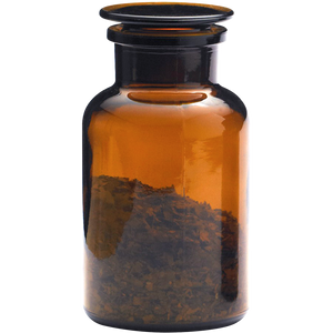 APOTHECARY BOTTLE BROWN LARGE
