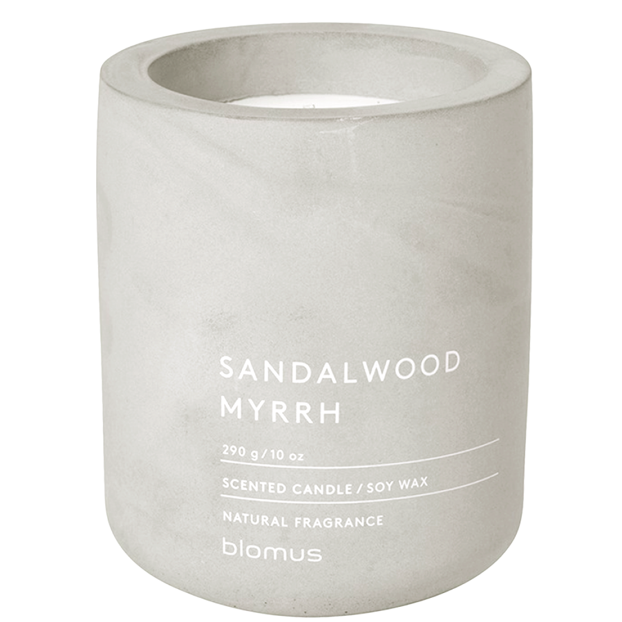 SCENTED CANDLE SANDALWOOD