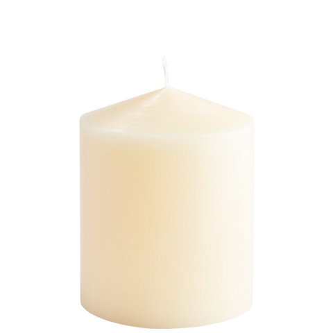 IVORY SMALL PILLAR CANDLE