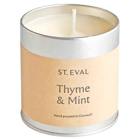 IVORY THYME & MINT TIN CANDLE