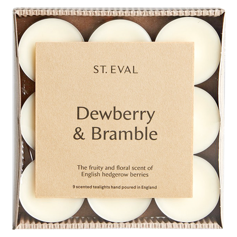 IVORY DEWBERRY & BRAMBLE TEALIGHT CANDLES
