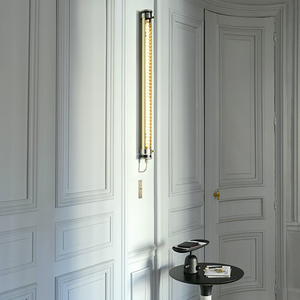 SAMMODE ELGAR GOLD LIGHT 1000mm - SAMMODE - DYKE & DEAN  - Homewares | Lighting | Modern Home Furnishings