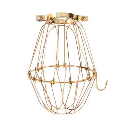 GOLD WIRE METAL CAGE