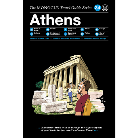 THE MONOCLE TRAVEL GUIDE ATHENS