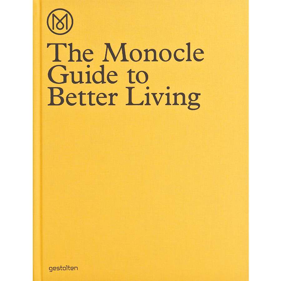 THE MONOCLE GUIDE TO BETTER LIVING - BOOKS - DYKE & DEAN  - Homewares | Lighting | Modern Home Furnishings