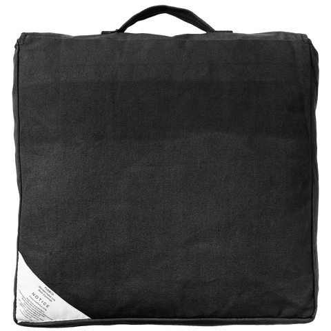 BLOCK SEAT CUSHION BLACK