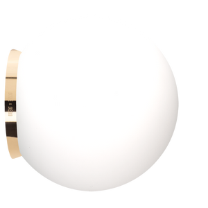 SPHERE LAMP BRASS BASE 300mm