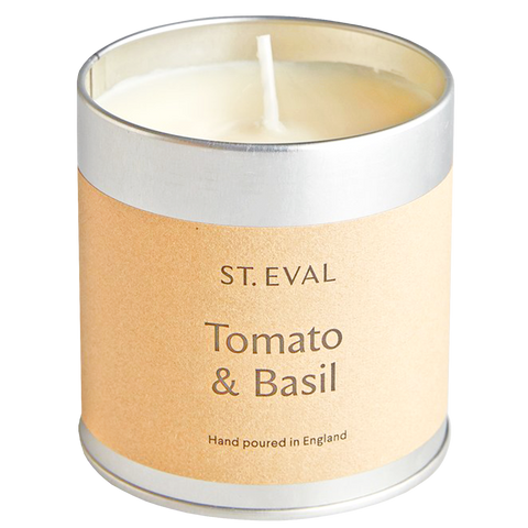 TOMATO & BASIL TIN CANDLE - HOMEWARE - DYKE & DEAN  - Homewares | Lighting | Modern Home Furnishings