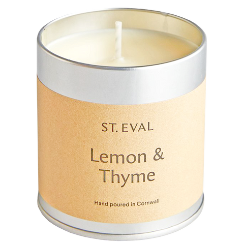 LEMON & THYME TIN CANDLE