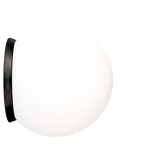 SPHERE LAMP BLACK BASE 200mm