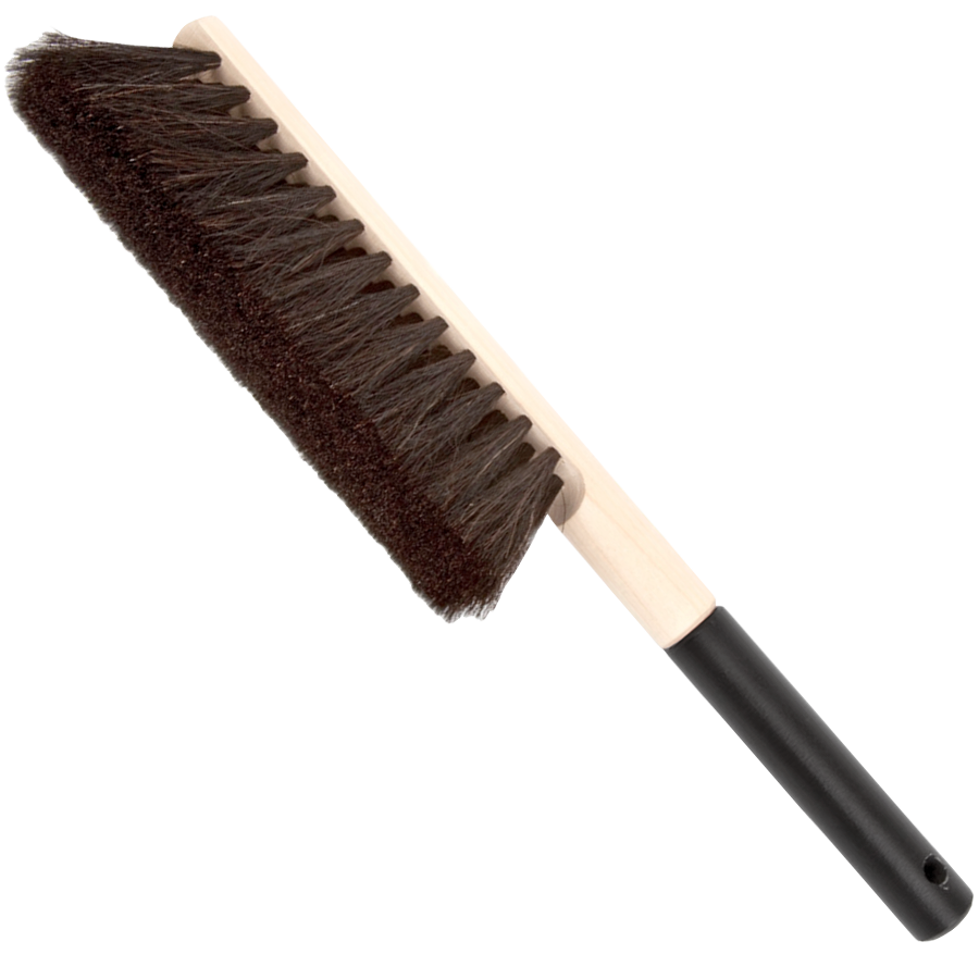 HANDMADE HORSEHAIR BRUSH BLACK HANDLE