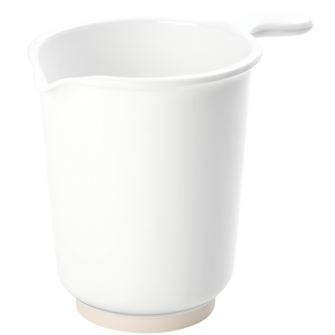 WHITE MELAMINE STIRRING JUG