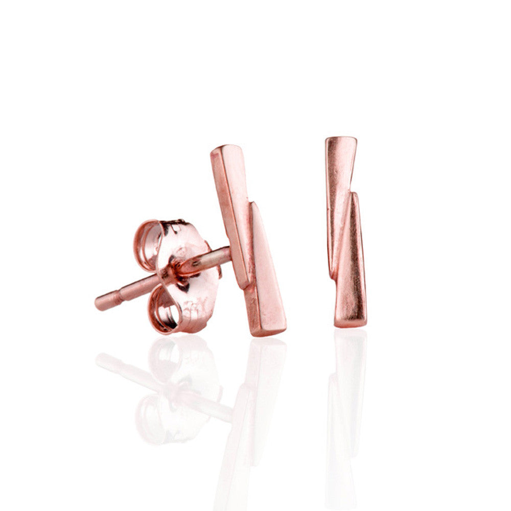 Rose gold razor bows